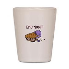 Fudge Taco Purple Devil Shot Glass