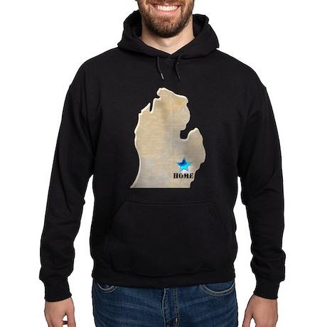 Michigan Is Home Hoodie (dark)
