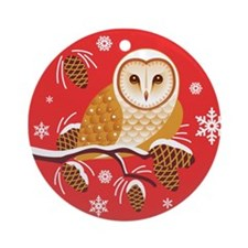 Molly In Pine Tree Ornament (Round)