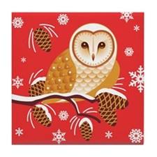 Molly In Pine Tree Tile Coaster