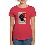 Occupy Poster Women's Dark T-Shirt