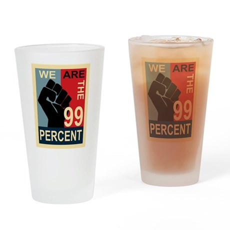 Occupy Poster Drinking Glass