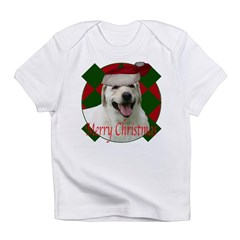 Happy lab christmas Infant T-Shirt