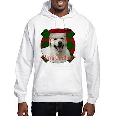 Happy lab christmas Hoodie