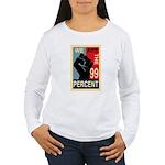 Occupy Poster Women's Long Sleeve T-Shirt
