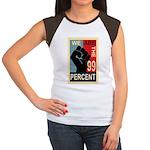 Occupy Poster Women's Cap Sleeve T-Shirt
