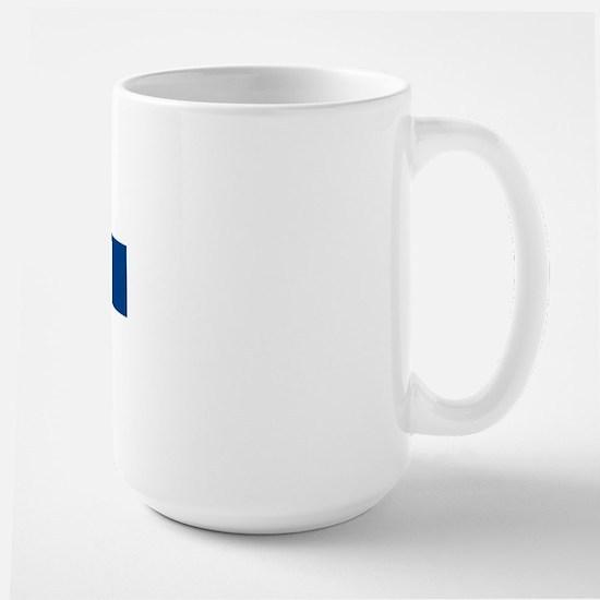 Flag of Finland Large Mug