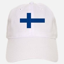 Flag of Finland Baseball Baseball Cap
