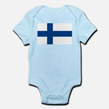 Flag of Finland Infant Creeper