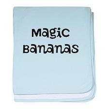 magic bananas baby blanket