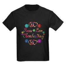 Peace Love Cheerleading T