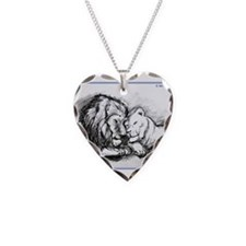 Lions,wildlife, art, Necklace