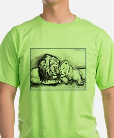 Lions,wildlife, art, T-Shirt