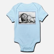 Lions,wildlife, art, Infant Bodysuit