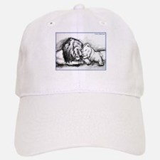 Lions,wildlife, art, Baseball Baseball Cap