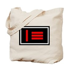 Master/slave (Dom/sub) Pride Flag Tote Bag