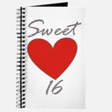 Sweet 16 in RED Journal