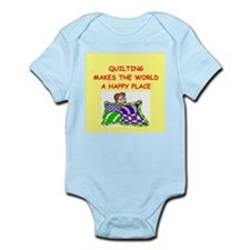 quilting Infant Bodysuit