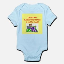 quilting Infant Bodysuit