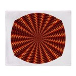 Flame Tunnel Throw Blanket