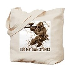 Paintball My Own Stunts Tote Bag