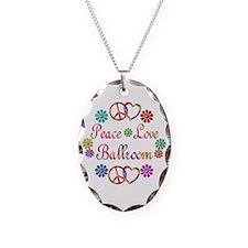 Peace Love Ballroom Necklace