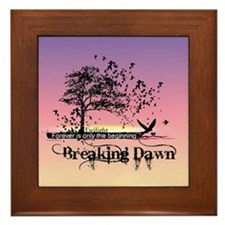 Unique New Twilight Gifts by twibaby Framed Tile