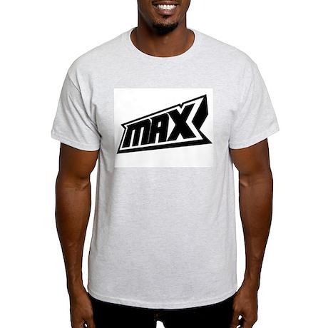 Max Ash Grey T-Shirt