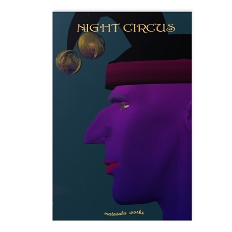 NIGHT CIRCUS Postcards (Package of 8)
