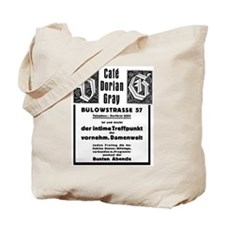 Cafe Dorian Gray Tote Bag