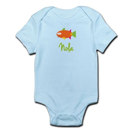 Nola is a Big Fish Infant Bodysuit