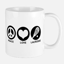 Peace Love Lacrosse Mug