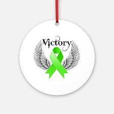 Victory NH Lymphoma Ornament (Round)