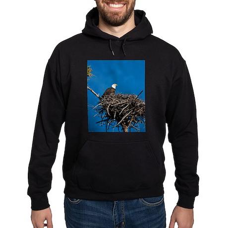 Bald Eagle Hoodie (dark)