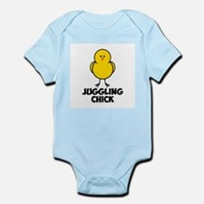 Juggling Chick Infant Bodysuit