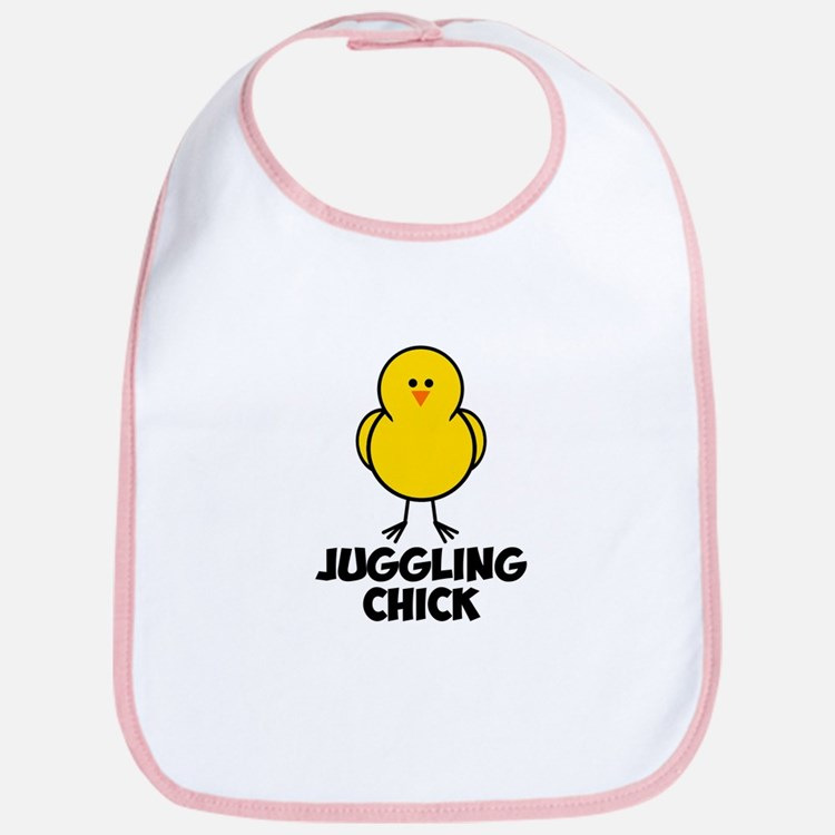 Juggling Chick Bib