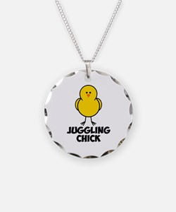 Juggling Chick Necklace