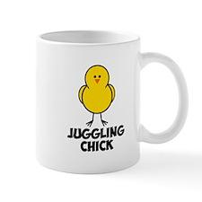 Juggling Chick Small Mugs