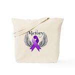 Victory Pancreatic Cancer Tote Bag