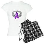 Victory Pancreatic Cancer Women's Light Pajamas