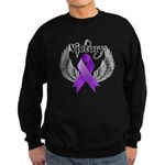 Victory Pancreatic Cancer Sweatshirt (dark)