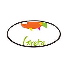 Greta is a Big Fish Patches