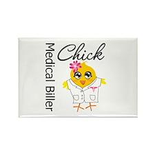Medical Biller Chick Rectangle Magnet