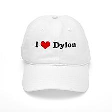 I Love Dylon Baseball Cap