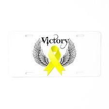 Victory Sarcoma Aluminum License Plate