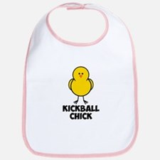 Kickball Chick Bib
