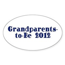 Grandparents-to-Be 2012 Decal