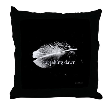 Breaking Dawn Feather Pillow by Twibaby Throw Pill
