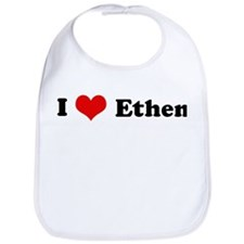 I Love Ethen Bib