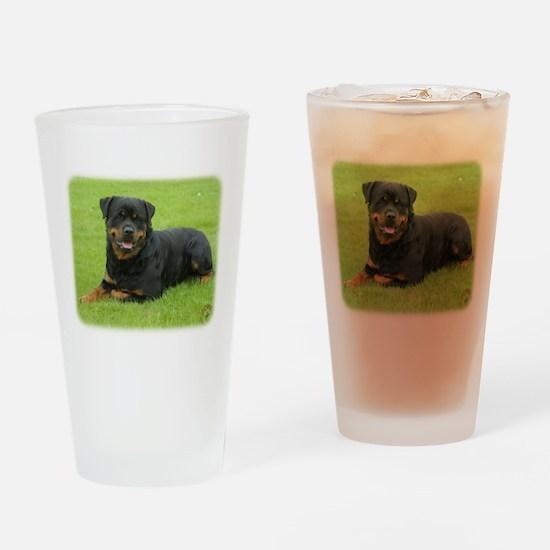 Rottweiler 9W025D-046 Drinking Glass
